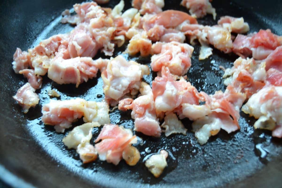 Bacon braten