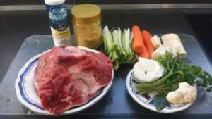 Rindfleischsuppe mit Sternchen - Nudeleinlage kochen aus liebe