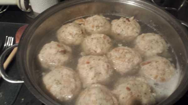 Semmelknödel aus Brötchen kochen aus liebe