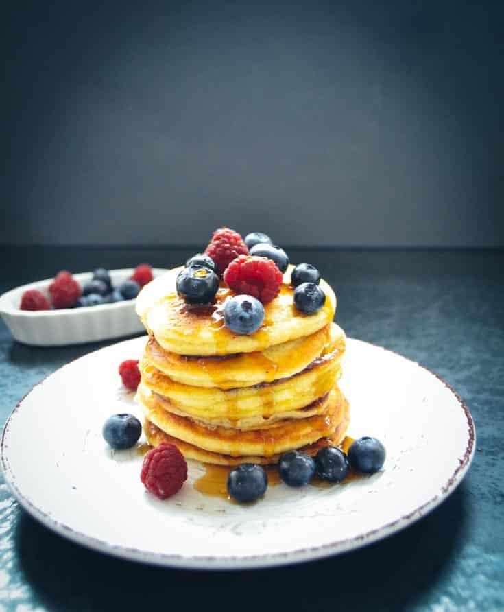 blaubeer pancakes rezept bananen pancakes kochen aus liebe. Black Bedroom Furniture Sets. Home Design Ideas