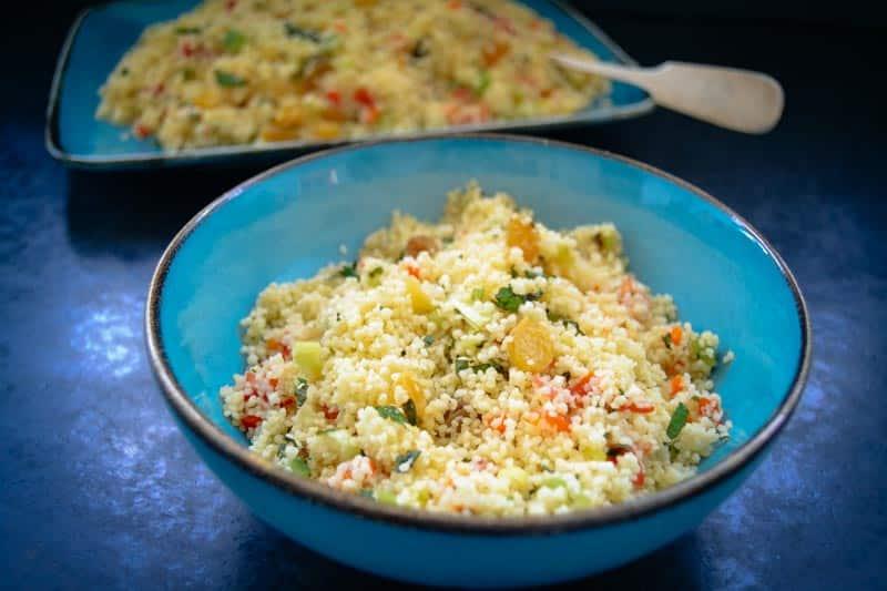 Couscous Salat Rezept Tabouleh Rezept