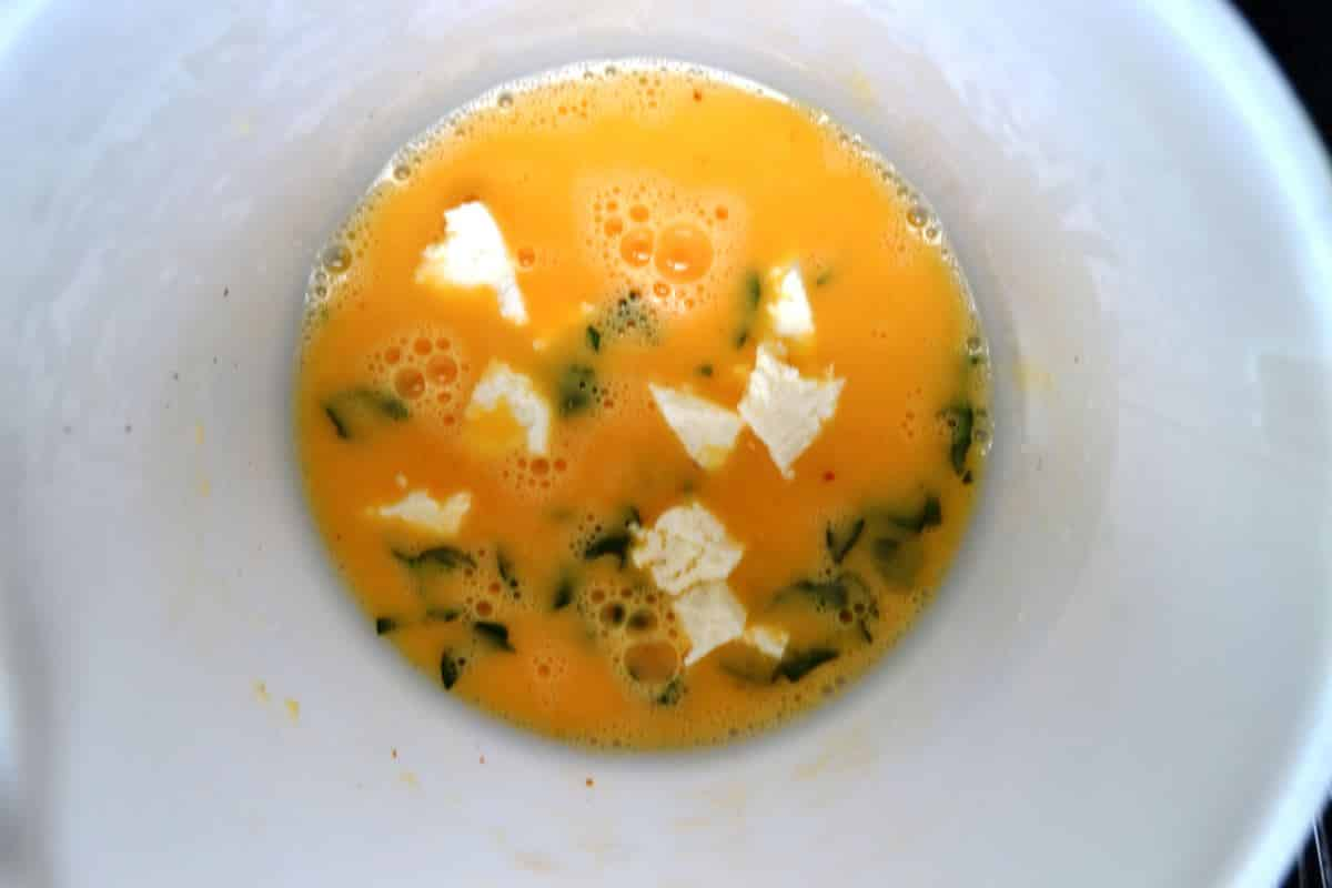 Eier , Minze , Brocciu kochen aus liebe