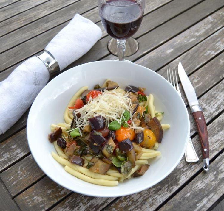 Maccheroni-al-ferretto-mit-Aubergine-kochen-aus-liebe
