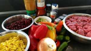 Chili con Carne Zutaten