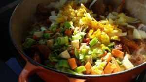 Chili con Carne mit Zwiebel