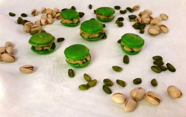 Macarons mit Pistazien -Ganache kochen aus liebe