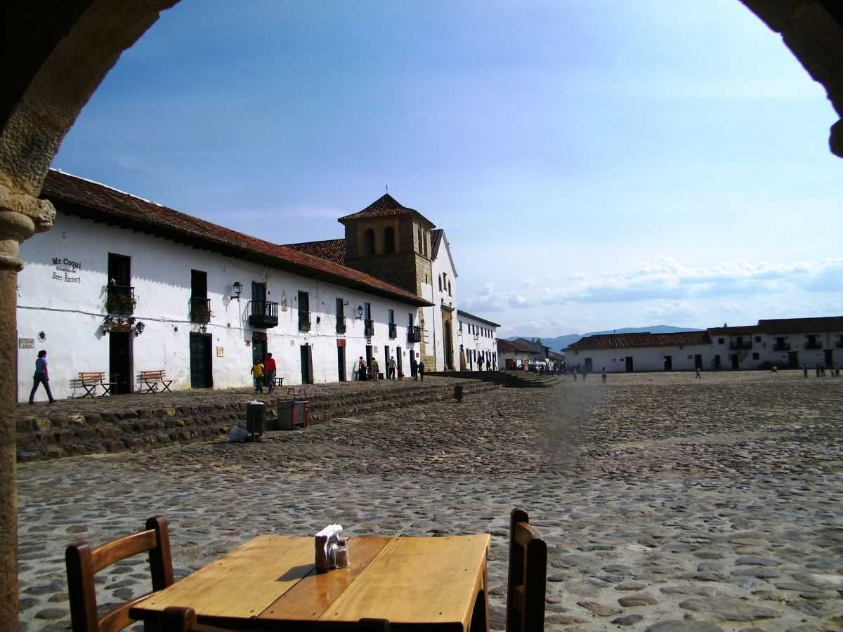 Kolumbien Villa de Leyva Plaza Mayor