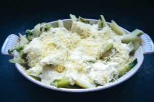 leckerer vegetarischer Fenchel Auflauf