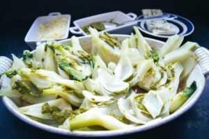 Fenchel Auflauf mit Basilikum Pesto