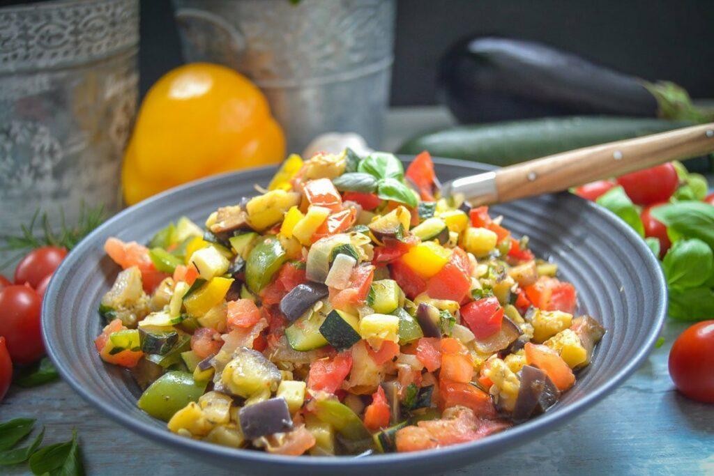 Ratatouille Rezept original französisches geschmortes Gemüse