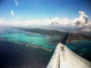Anflug san-andres-kolumbien