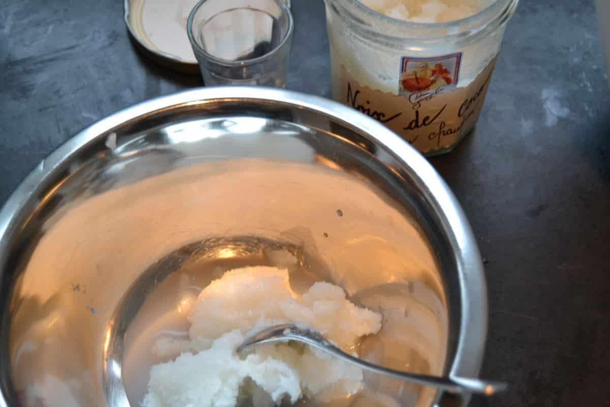 Kokoslikör und Kokos -Marmelade