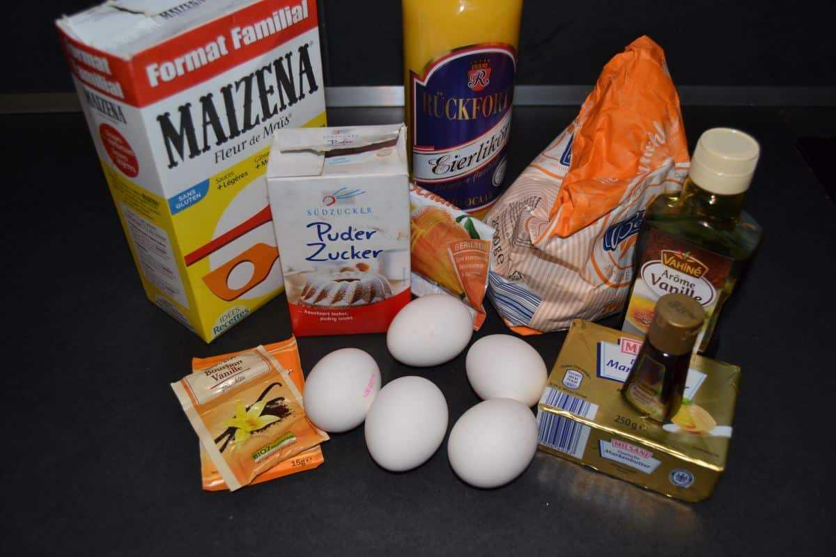 Zutaten Osterlamm mit Eierlikör