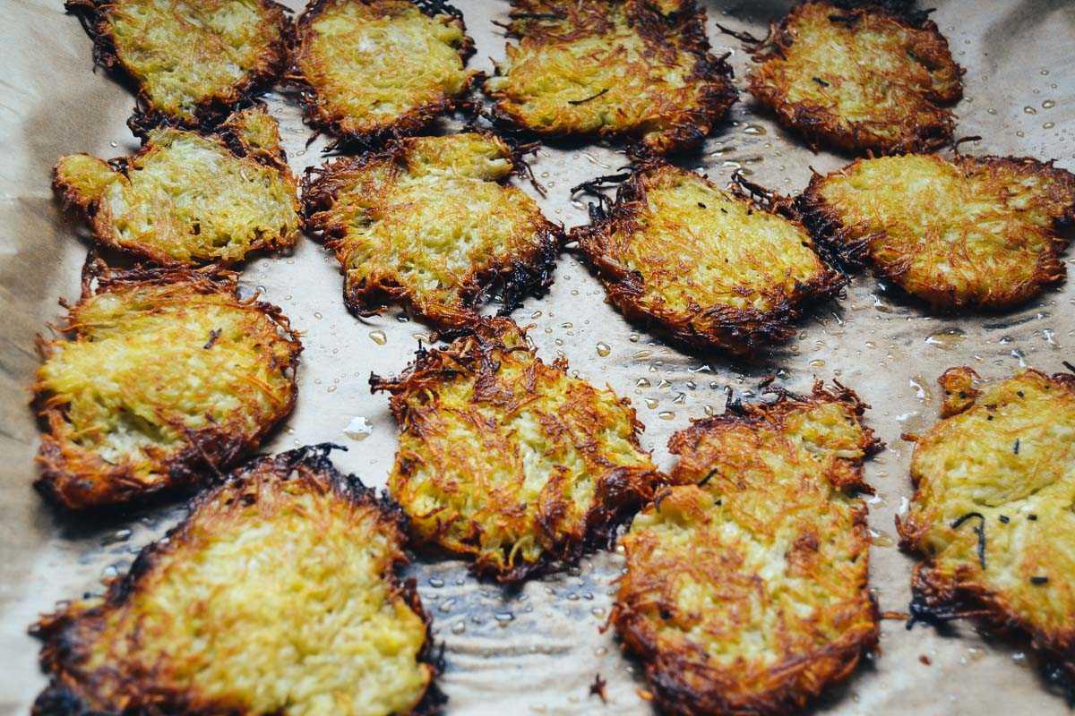 gebratene Kartoffel Rösti