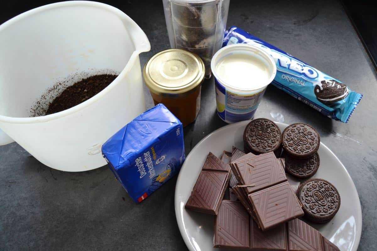 Oreo , Schokolade , Sahne , Dulce de Leche