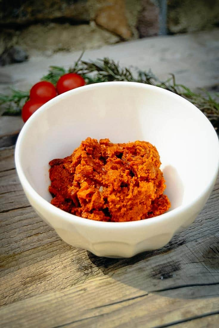 Pesto rosso Rezept - Tomaten Tapenade
