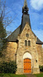 kleine Kirche an der Eder