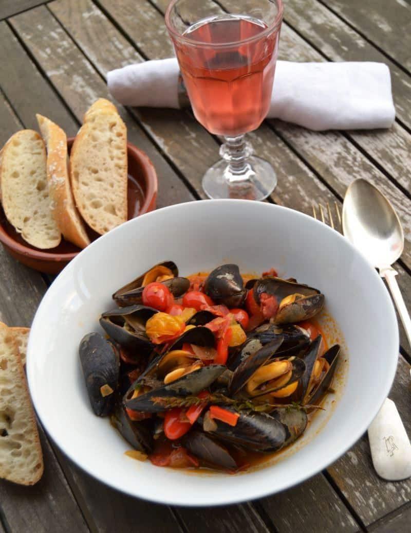 Muscheln miesmuscheln mediterran rezept kochen aus liebe - Miesmuscheln kochen ...