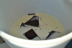 Sahne , Schokolade , Milch