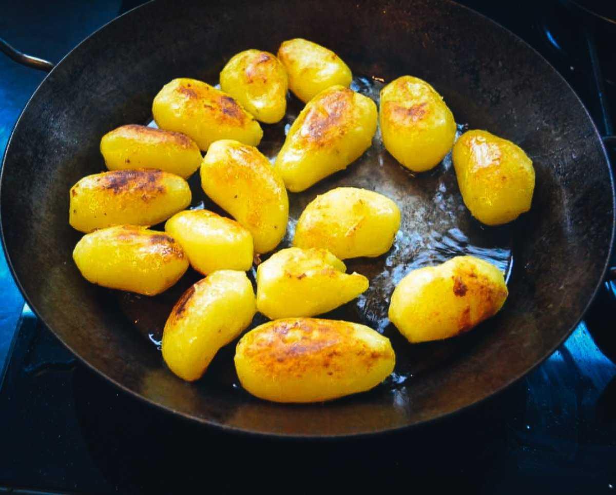 Kartoffeln braten