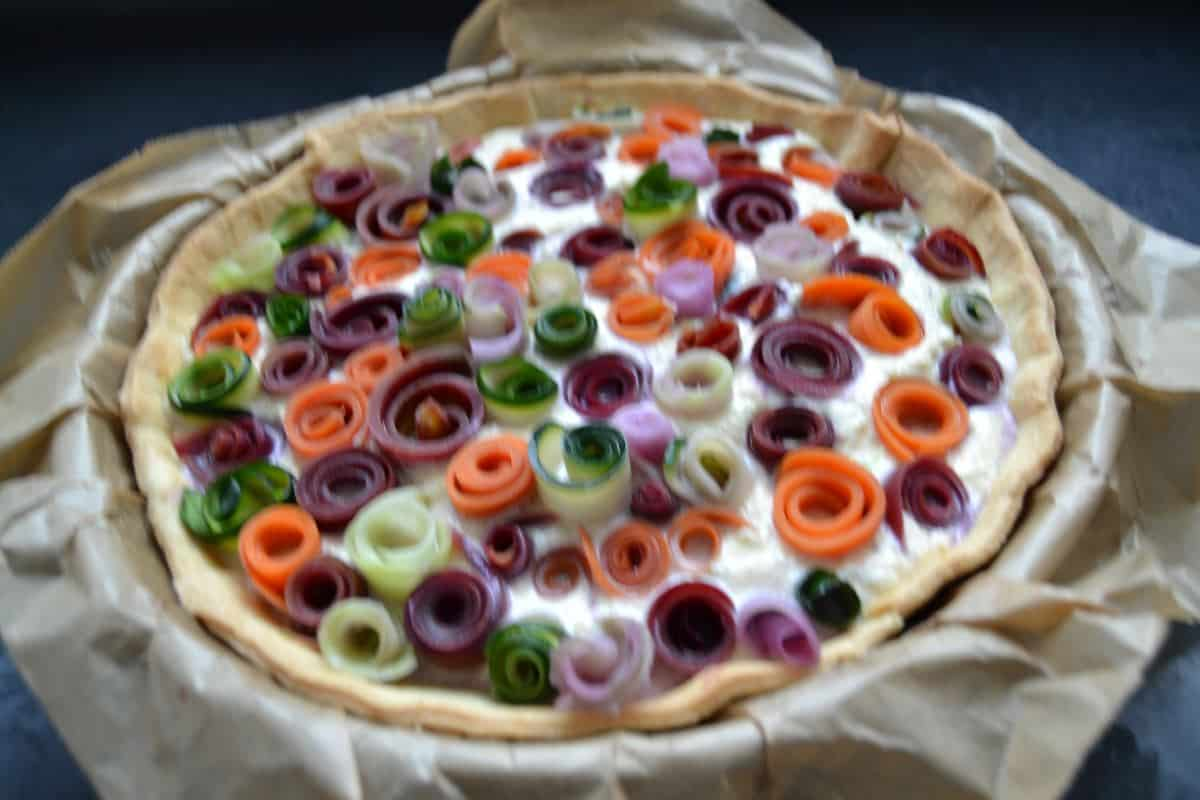 gemuese rosen tarte mit ricotta kochen aus liebe 01 kochen aus liebe. Black Bedroom Furniture Sets. Home Design Ideas