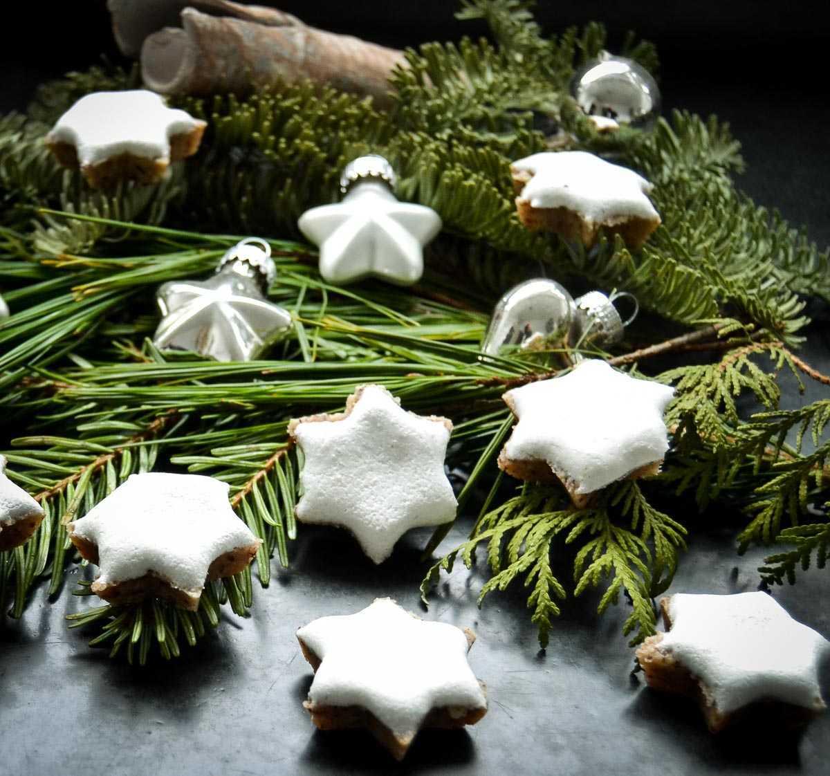 Rezept Zimtsterne weich und saftig mit Marzipan
