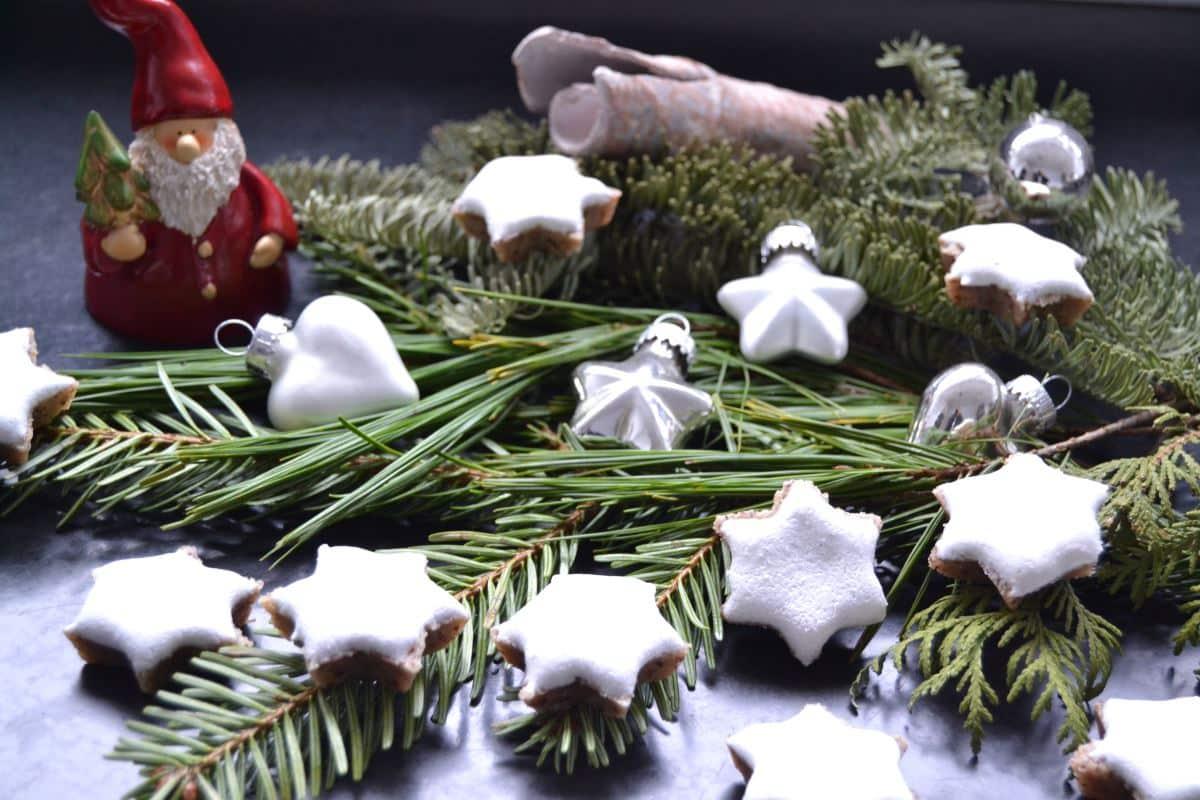 Zimtsterne Weihnachtsgruß
