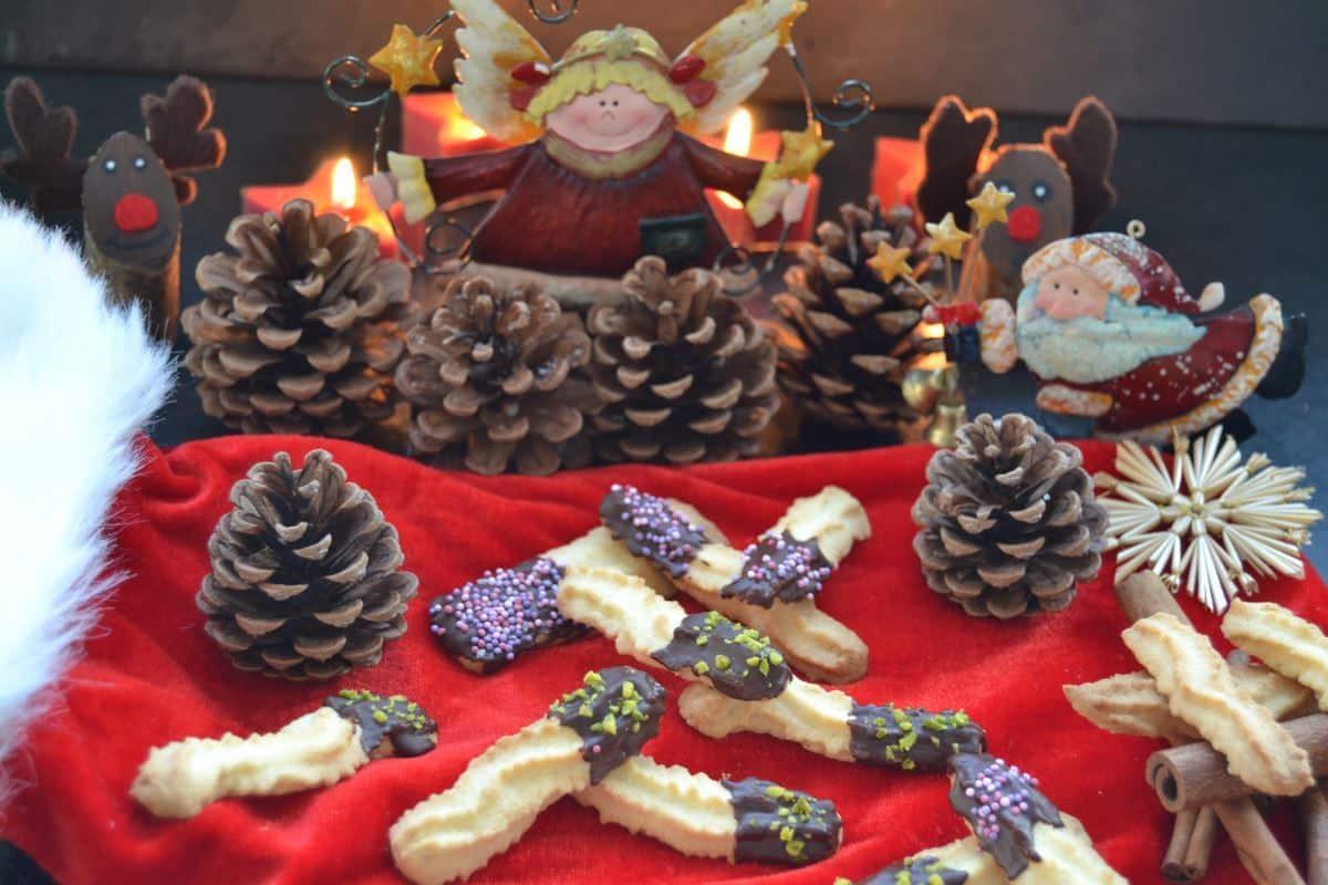 Spritzgebäck weihnachtsgruß