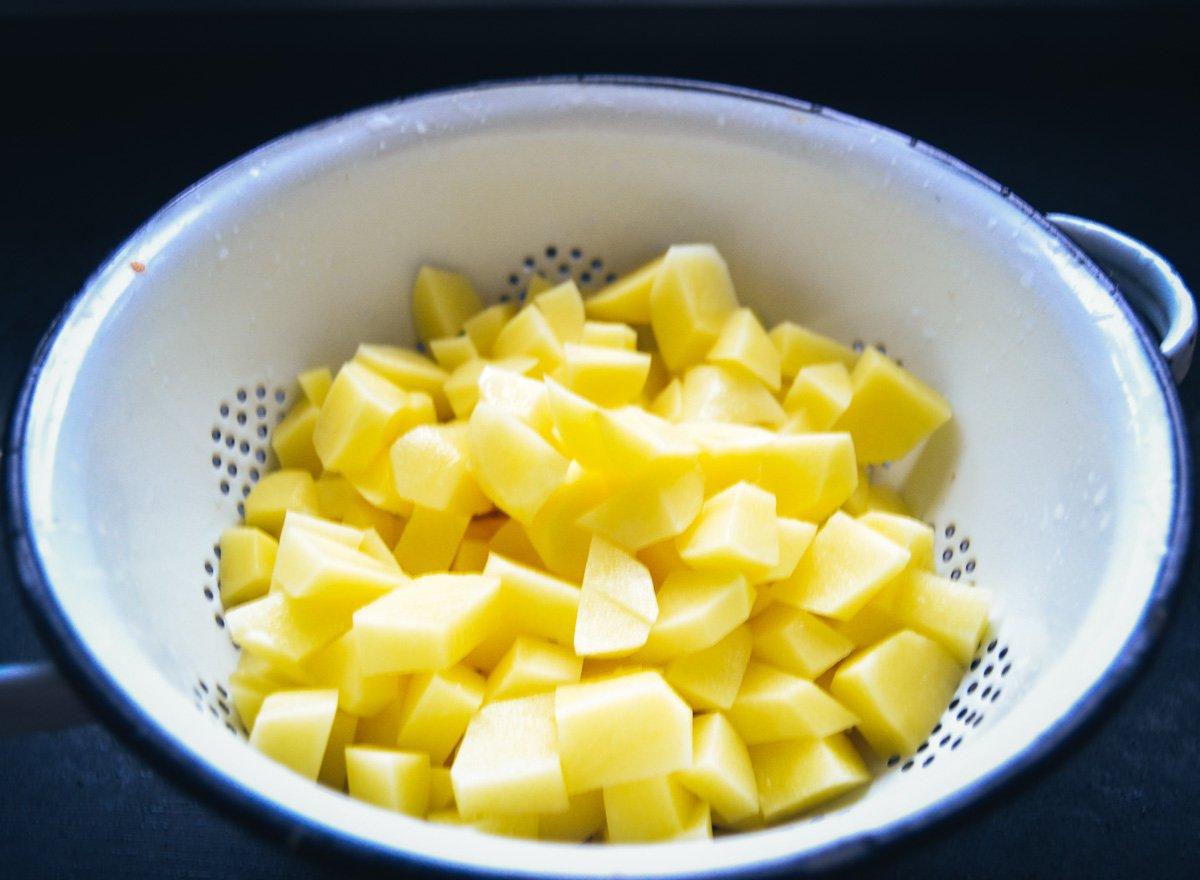 Kartoffel Würfel