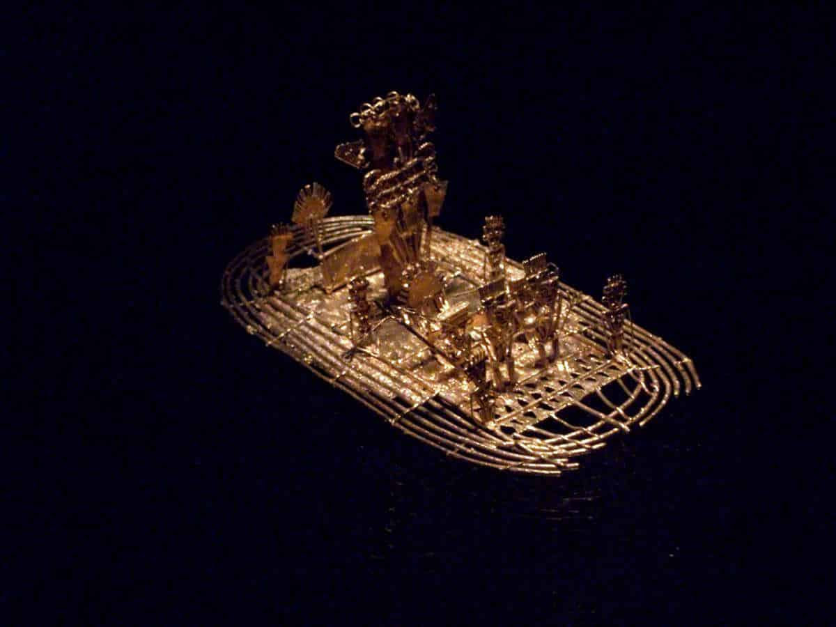 Museo del oro bogota Colombia Goldmuseum in Bogota Kolumbien