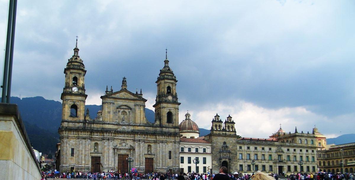 La Catedral Primada Bogota Colombia - Die Kathedrale in Bogota Kolumbien