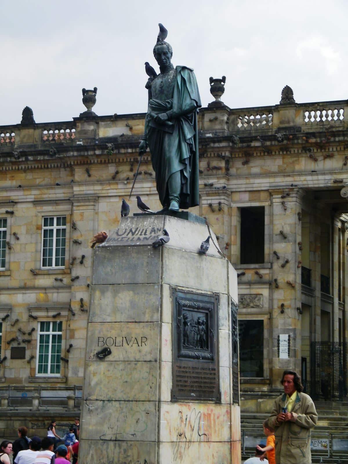 plaza bolivar bogota Colombia Bolivar in Bogota