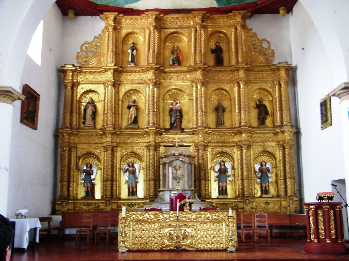 Villa de Leyva Iglesia de Nuestra Señora del Rosario