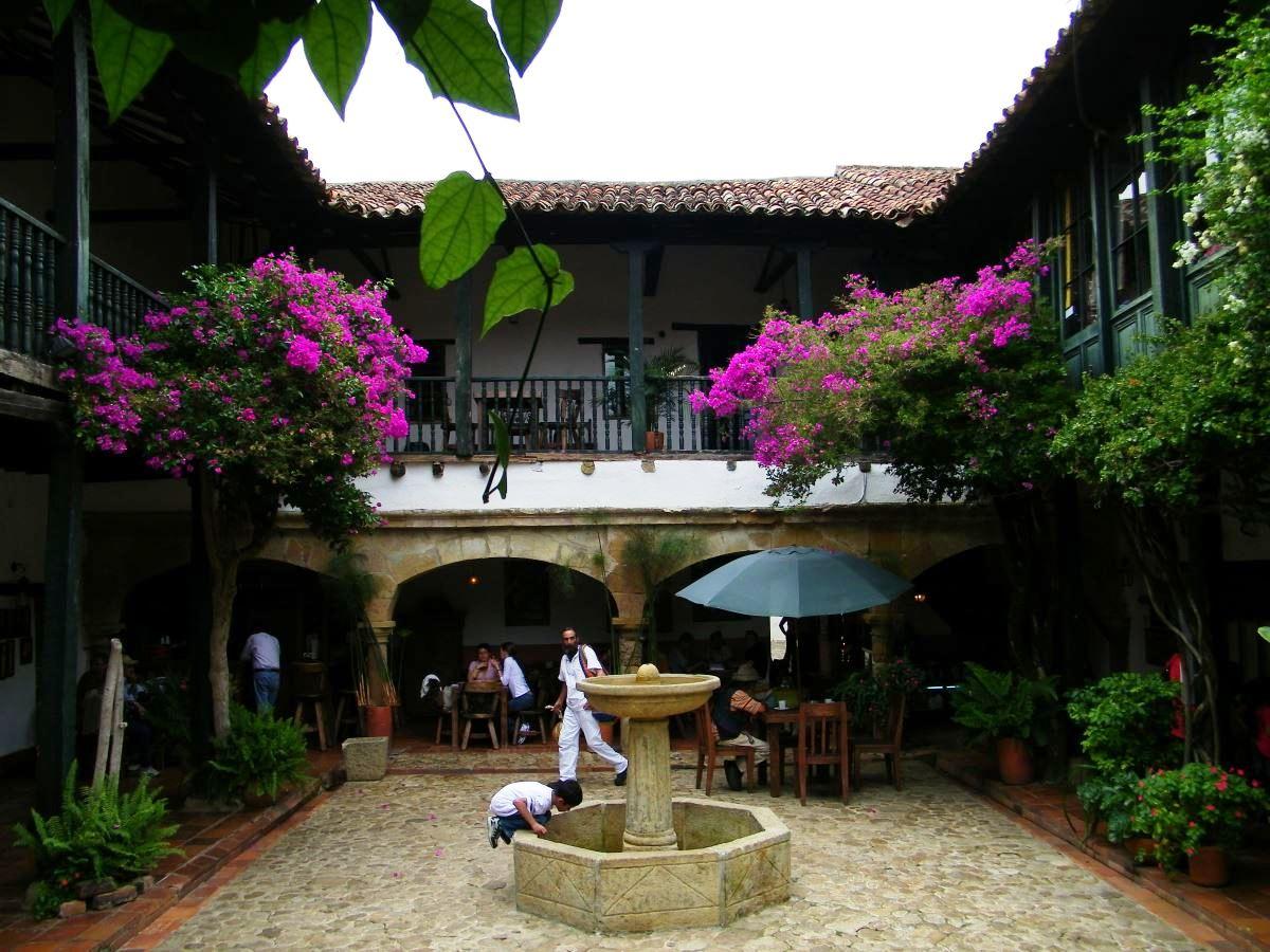 Kolumbien Reisebericht Villa de Leyva -Colombia Plaza Mayor