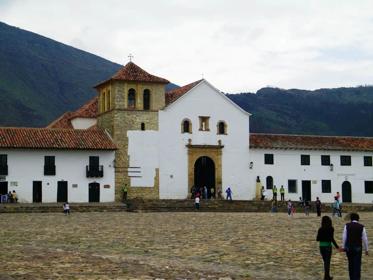Kolumbien Reisebericht Villa de Leyva Colombia Plaza Mayor
