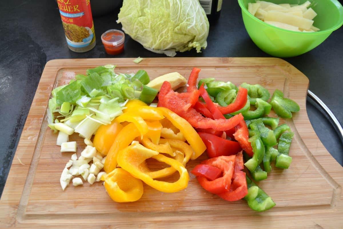 Wok Gemüse Tk