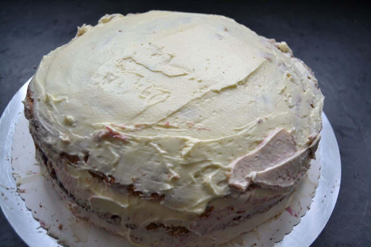 Marzipan Buttercreme Torte Mit Waldfruchten Kochen Aus Liebe