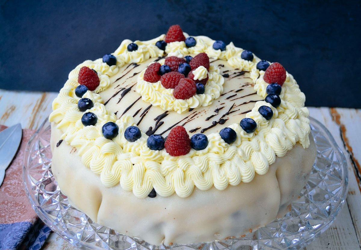 Marzipan Buttercreme Torte