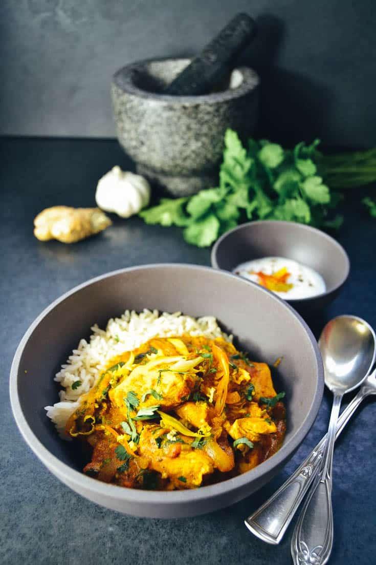 Chicken Tikka Masala Huhn auf indische Art