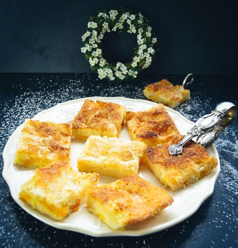 Kokos Buttermilch Kuchen mit Mandarinen