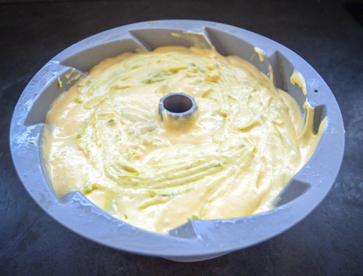 Rührkuchen mit Pistazien
