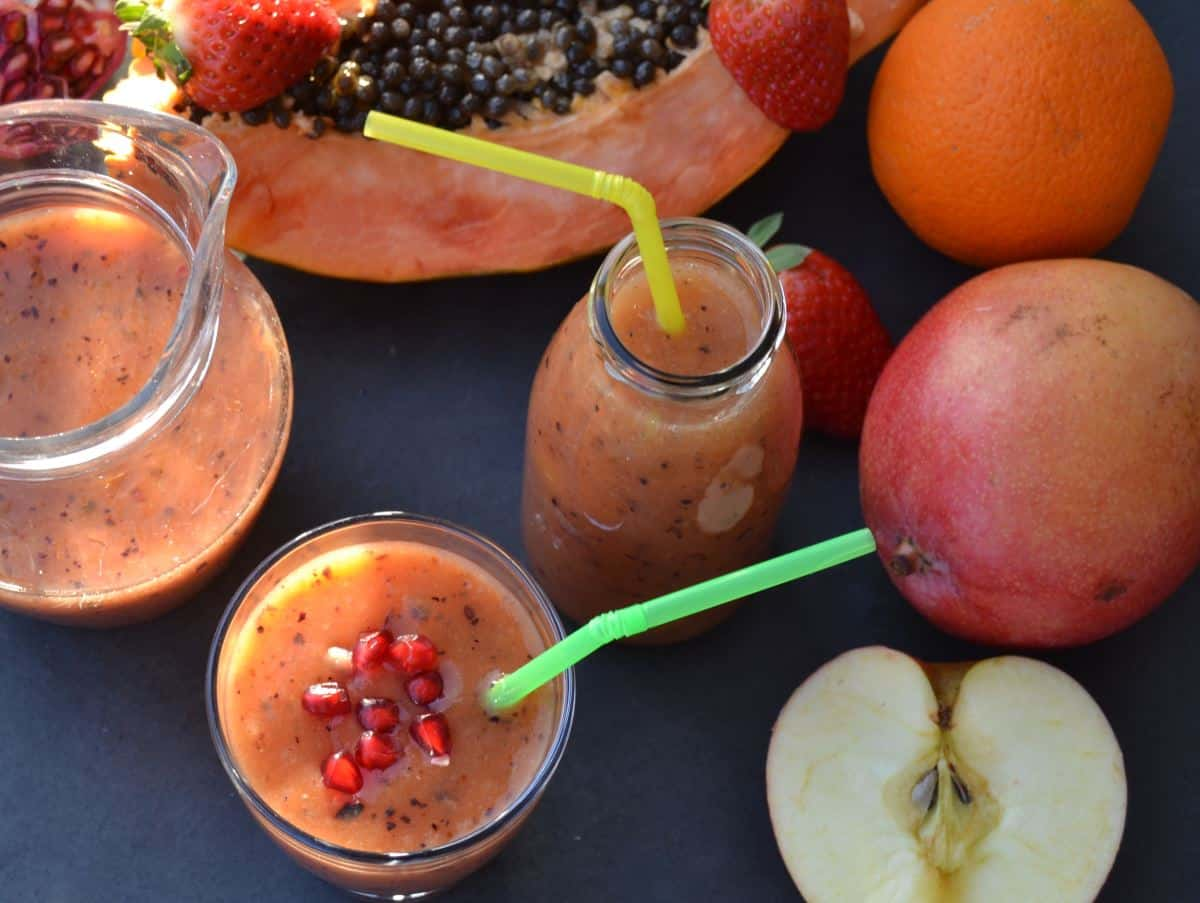 Papaya Frucht Smoothie Rezept