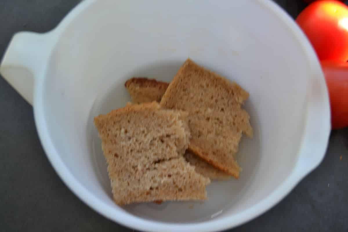 eingeweichtes Brot