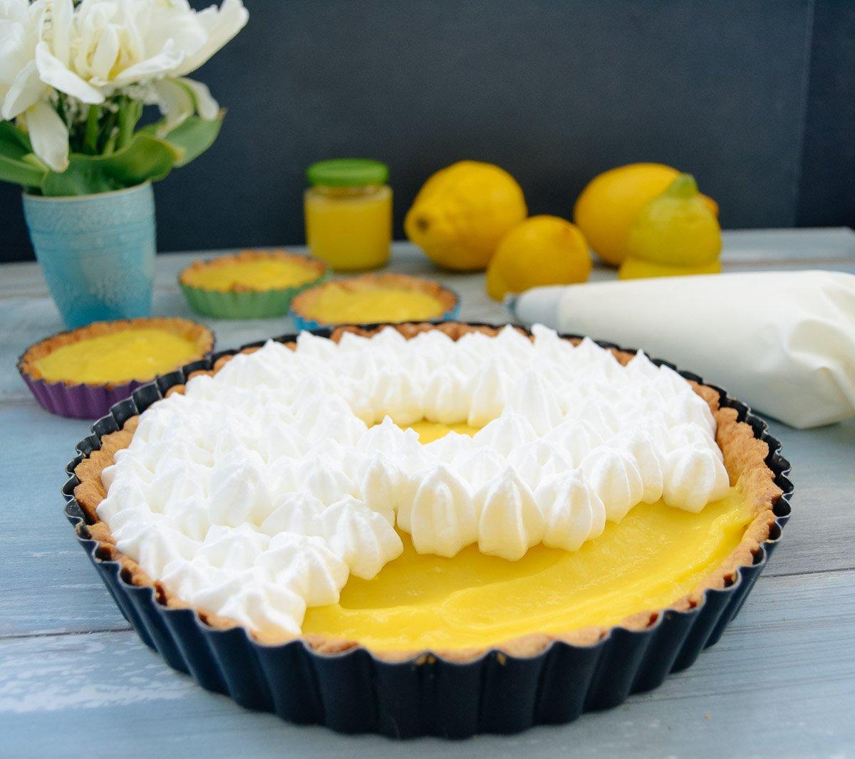 Rezept Tarte au Citron mit Baiser