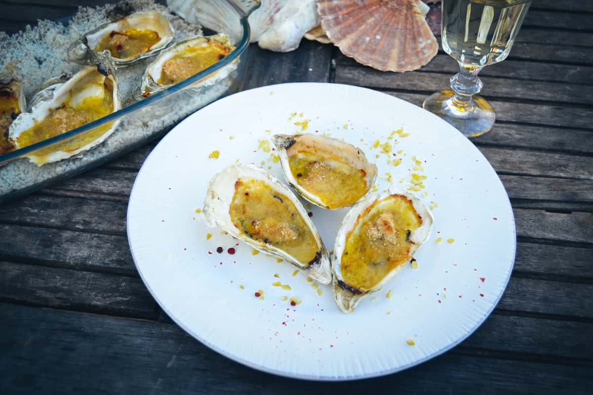 gratinierte Austern