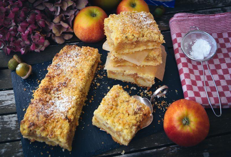Apfel Streuselkuchen vom Blech