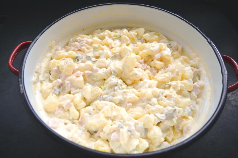 Rezepte Kartoffelsalat mit Mayonnaise