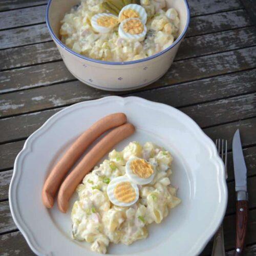 Rezepte Kartoffelsalat Mit Mayonnaise Kochen Aus Liebe Food Blog