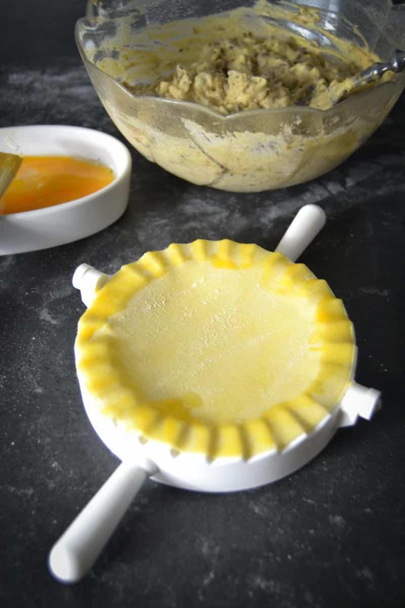 Pastateig-Nudelteig Grundrezept im Förmchen