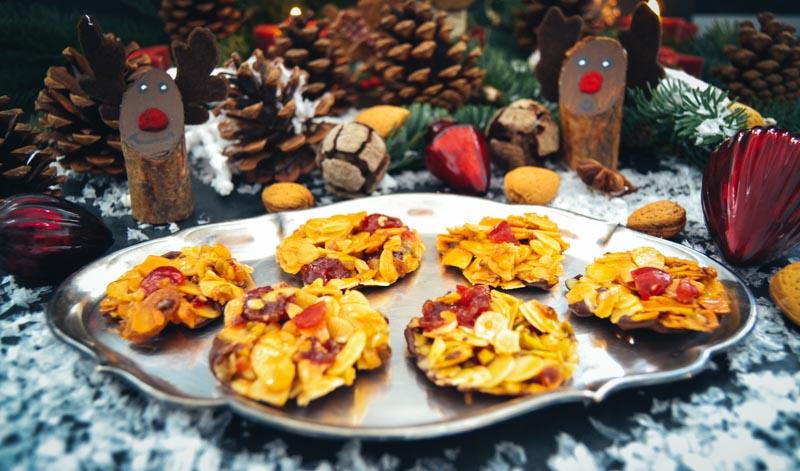 Florentiner Weihnachtsplätzchen.Florentiner Rezept Ganz Einfach Selber Backen